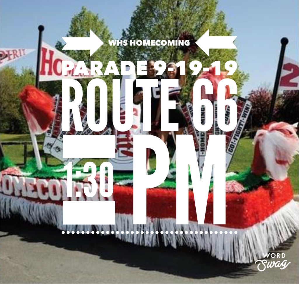 Parade down Route 66!