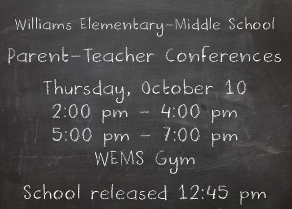 WEMS PARENT TEACHER CONFERENCES