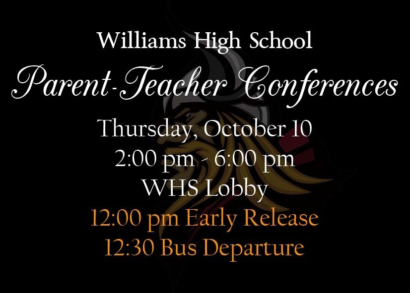 WHS PARENT TEACHER CONFERENCES