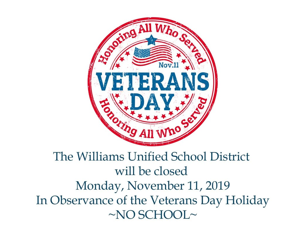 No School Veterans' Day